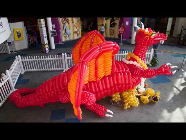 Dragon Build at the National Museum of Play and Brooklyn Children's Museum