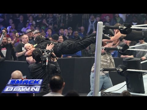 The Shield defies WWE COO Triple H by attacking The Wyatt Family: SmackDown Feb. 28 2014