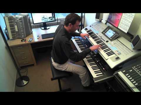 Tico Tico No Fuba By Rico Rico Performed On Yamaha Tyros 4 And Roland G70 Klaus Wunderlich Style