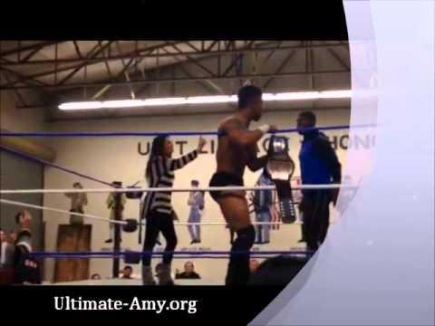 Amy Dumas   Lita Kicks Ass At Nwl Show - 02 06 15 video
