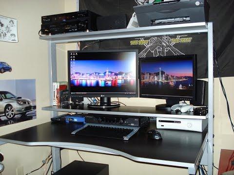 Best Gaming Computer Desk 2014 – Atlantic 33935701 Gaming Desk