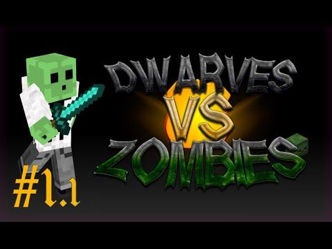 Dwarves vs Zombies (1/2) - Minecraft Minigame w/ Iminers