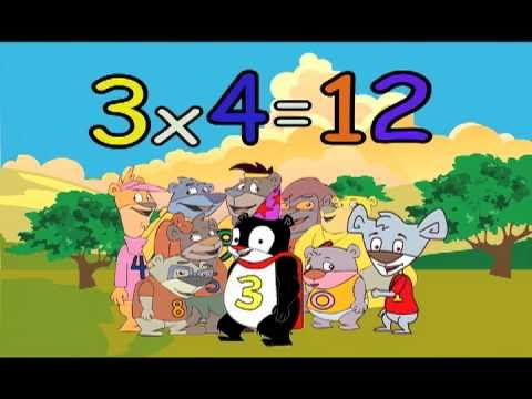 Youtube 3 times table multiplication song from the for 11 times table rap