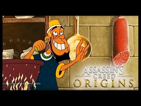 LE PUDDING A L'ARSENIC EASTER EGG (Assassin's Creed Origins)