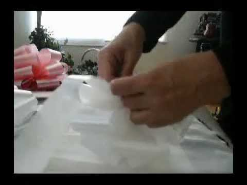 0 Wedding Bow In Seconds!   GIftWrap Etc.