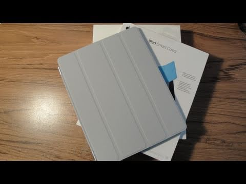 iPad 2 Smart Cover Polyurethane in Grey Unboxing & Overview