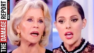 Jane Fonda SHUTS DOWN Abby Huntsman
