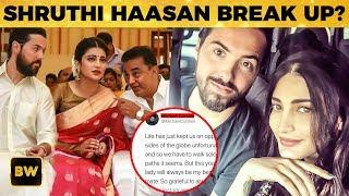 Shruthi Haasan Break Up with her Boyfriend Michael Corsale?   Kamal Haasan