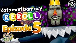 Katamari Damacy REROLL Gameplay Walkthrough - Episode 5 - Giant Katamari!