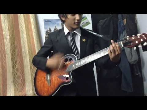 Rahul Rajkhowa - Badtameez Dil (guitar Cover) video