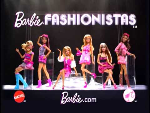 Barbie Fashionista Dolls Commercial Barbie Fashion Fever