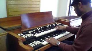 Bill Mason Playing Hammond B3 at Lancaster Music 2011-03-02.MOV