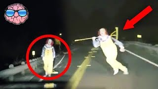 10 CREEPIEST Clown Sightings