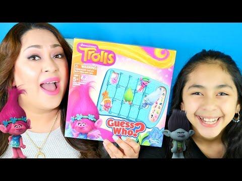 TROLLS  Guess Who Game!!B2cutecupcakes