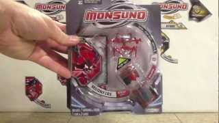 Wave 1 Monsuno Toy Opening - #7 Moonfire Eklipse
