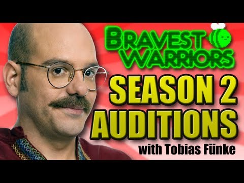 Bravest Warriors Season 2 Auditions - Tobias Fünke