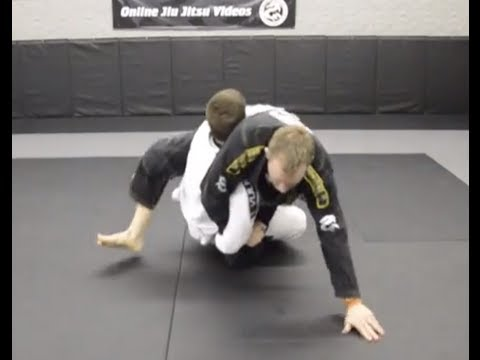 Brazilian Jiu Jitsu Hip Bump Against Resisting Opponent