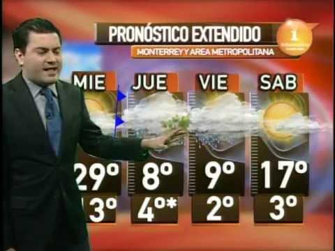4/marzo/2015 Pronóstico del tiempo Monterrey Clima TVNL