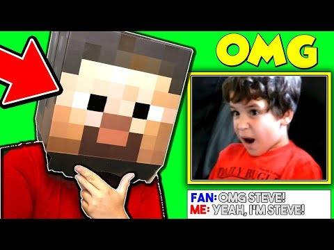 FACECAM TROLLING FANS! (Minecraft Challenge Accepted)