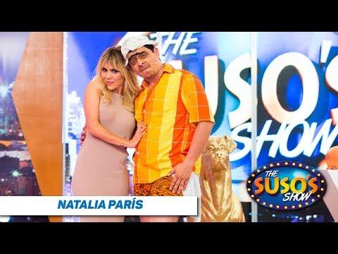 La vida de Natalia París - Natalia París en The Suso's Show