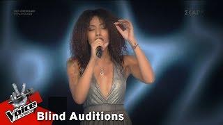 Δανάη Παναγιώτου - Εν λευκώ   7o Blind Audition   The Voice of Greece