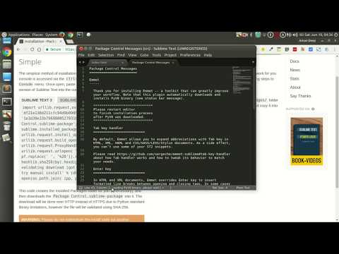 How to install Package Control in Sublime text