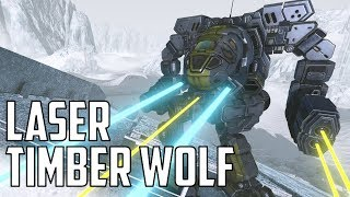 MWO: F2P - Trial By Fire: Laser Vomit Timber Wolf