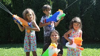 Nerf Water Soaker PRANK WAR