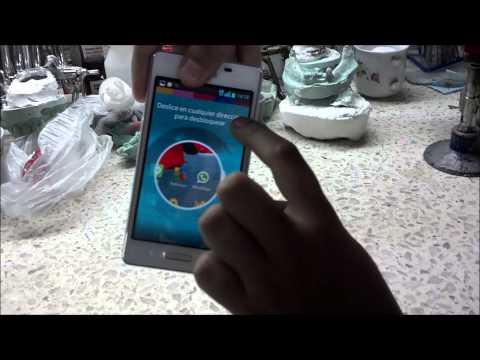 Captura de pantalla en LG Optimus L5 II