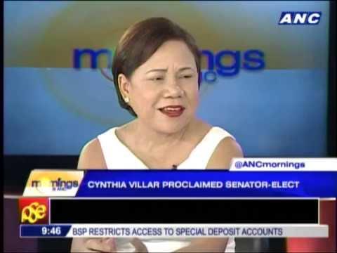 Why Manny Villar didn't campaign for Cynthia