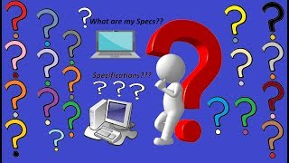 How To Check Your Pc Or Laptop Specifications | Detailed Tutorial