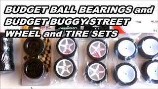 New Arrivals! RC Budget Ball Bearings and Budget Buggy On Road Wheel/Tire Sets! RC Hauls May 2017