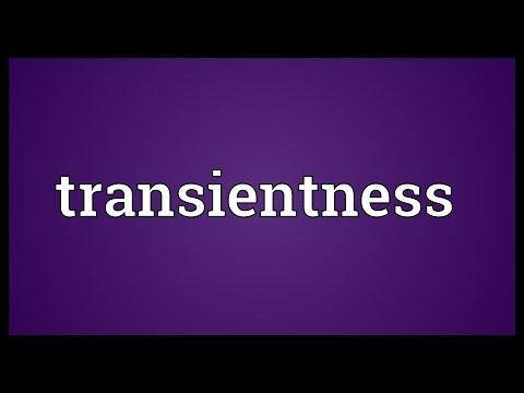 Header of transientness