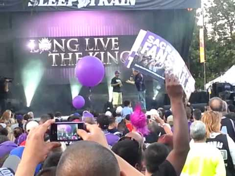 Sacramento Kings Here We Stay Rally-Isaiah Thomas