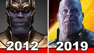 The Evolution Of Thanos: MCU Timeline