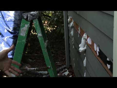 Insulating Exterior Walls with AirKrete  (Complete Version)