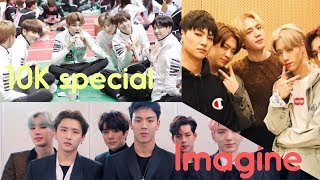 Imagine BTS, Got7, Monsta X and Seventeen Being Jealous Of Your Friendships (10K special)