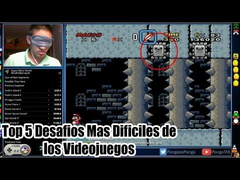 Top 5 Desafios Mas Dificiles de los Videojuegos