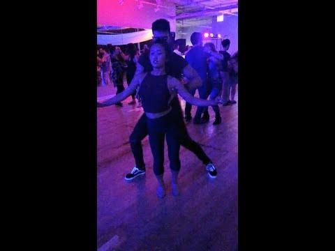 Leo Chaffe & Emi Ferguson Brazilian Zouk Dancing in Chicago