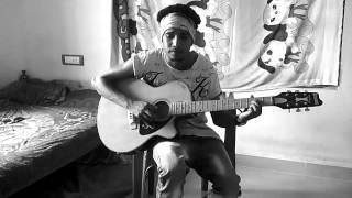 """guitar cover """"Chinkara kinnaram"""" thaikkudam style"""