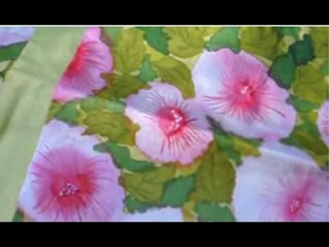 silk painting without using gutta