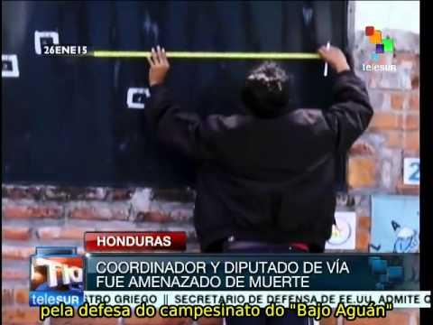 Honduras: sede da Via Campesina é sofre atentado