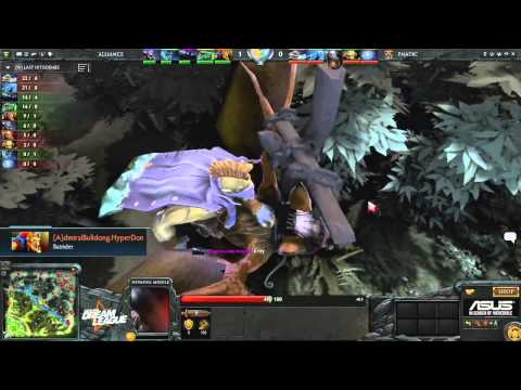 ASUS ROG Dreamleague S2 Alliance vs. Fnatic. Game 3