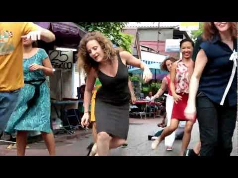 Flash Mob Shim Sham KHAO SAN ROAD!