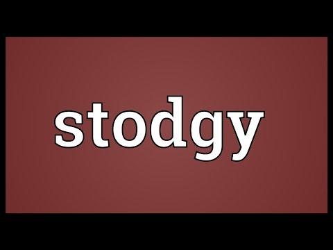 Header of stodgy