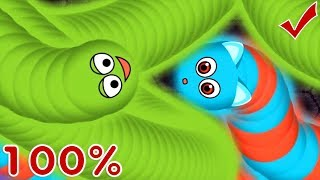 Wormate.io The Running Tiny Worm Epic Adventure in Wormateio Best Moments!
