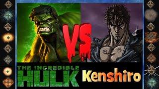 Incredible Hulk (Marvel Comics) vs Kenshiro (Fist of the North Star) - Ultimate Mugen Fight 2015