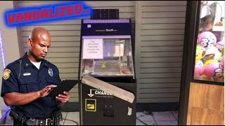 Cops Called To MY ARCADE!!!