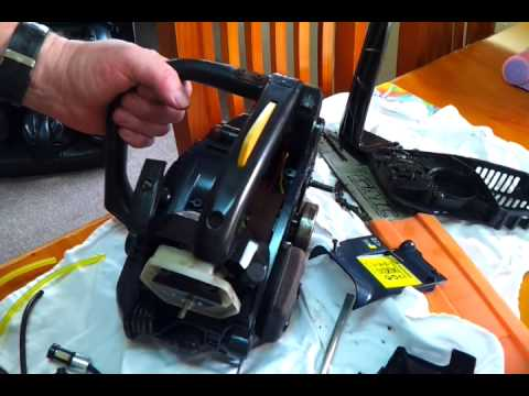How to replace fuel line on 25cc chainsaw
