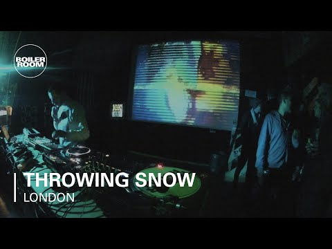 Throwing Snow LIVE in the Boiler Room